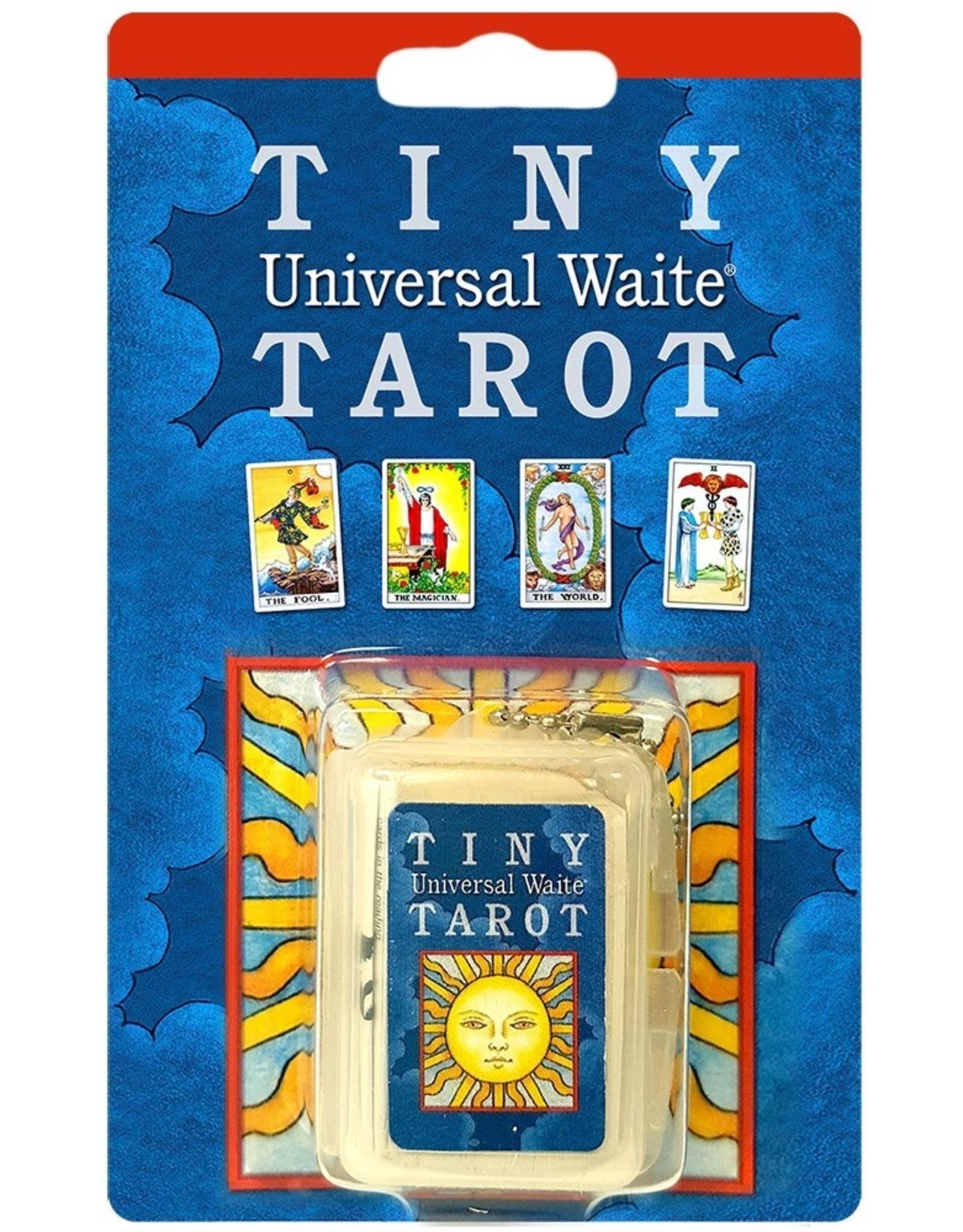 Tiny Tarot Universal Waite Key Chain
