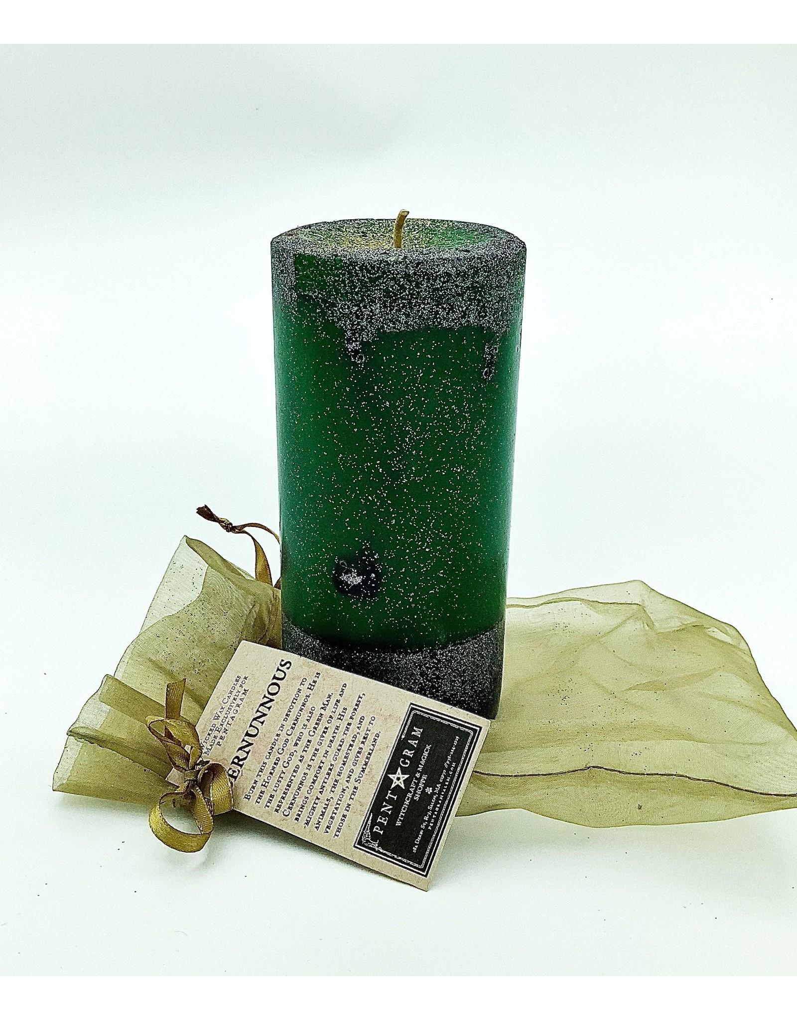 Cernunnous Handmade Candle