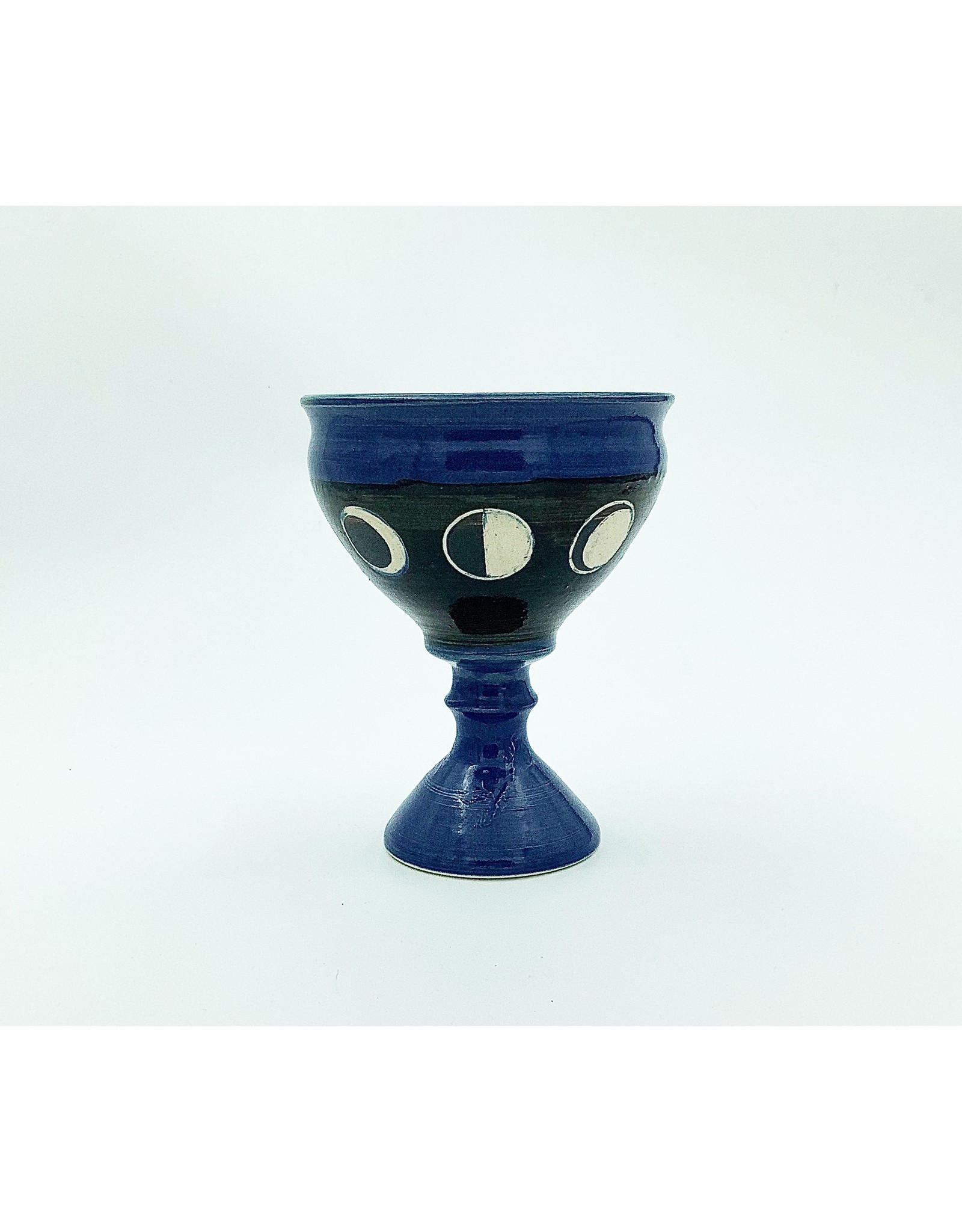 Moon Phases Chalice in Sky Blue