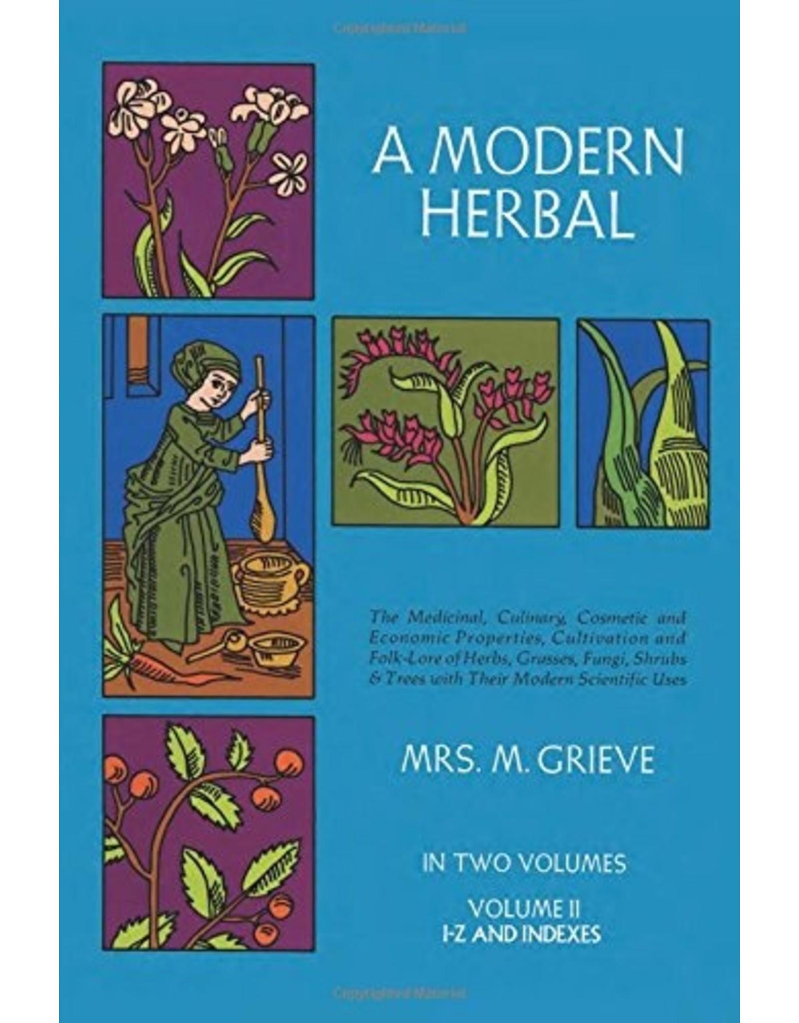 A Modern Herbal Volume II