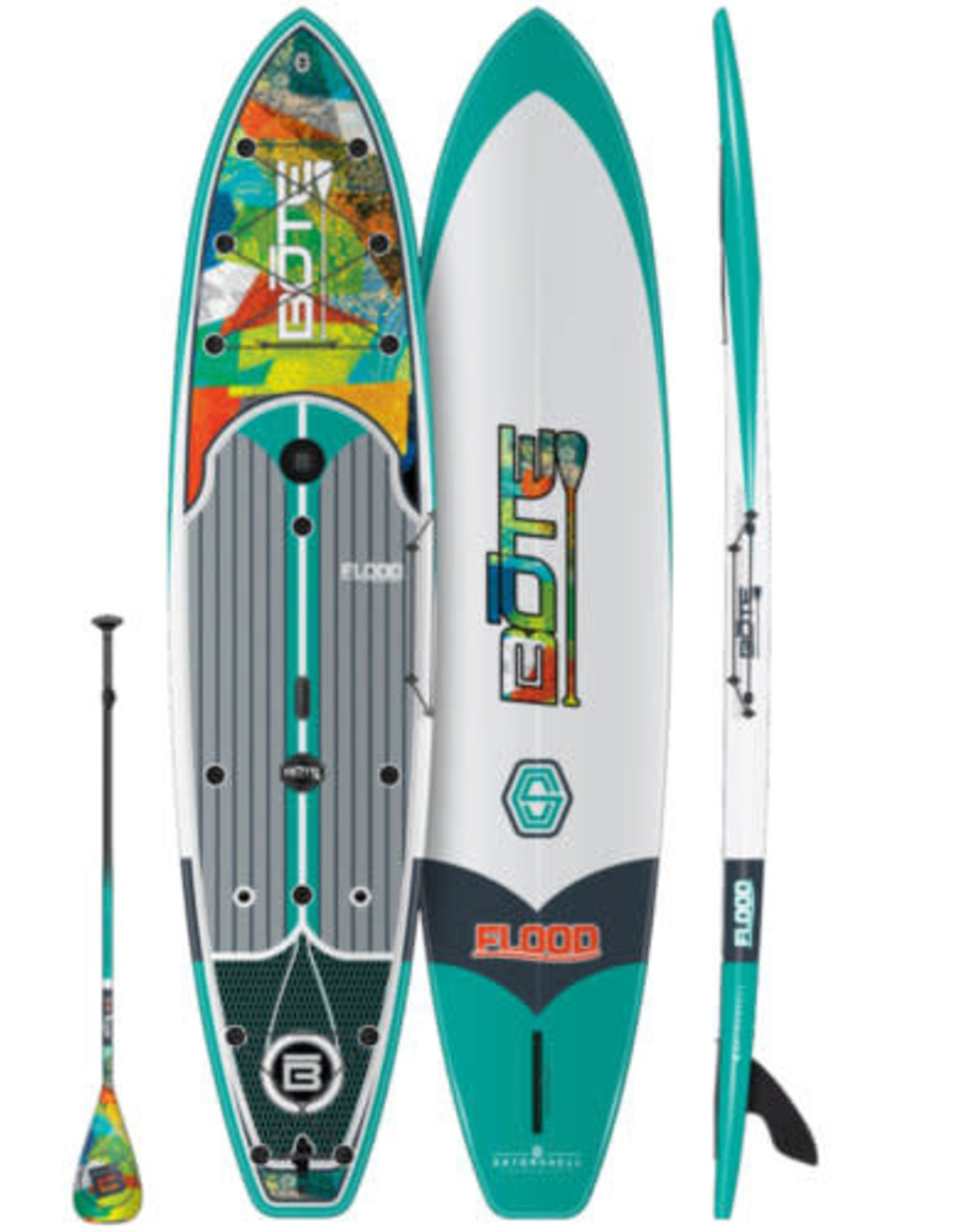 Bote 2021 BOTE FLOOD GATORSHELL NATIVE 10'6