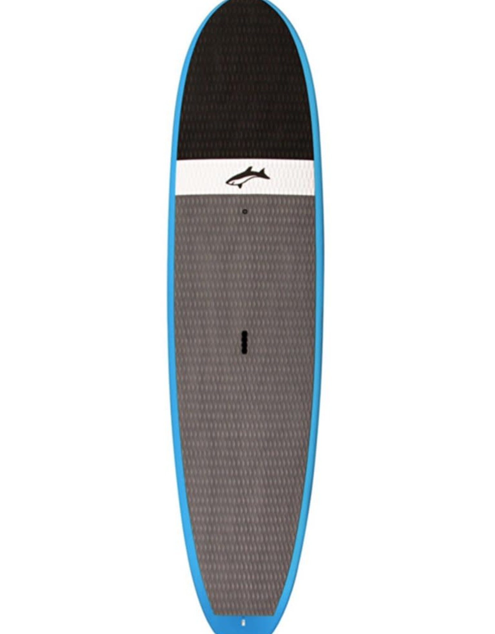 Jimmy Lewis JIMMY LEWIS BLACK AND BLUE MACHINE 9'6 Blue flat nose