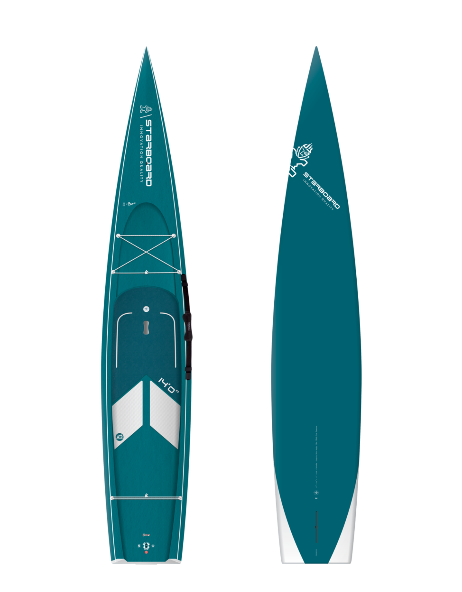 """Starboard 2021 Starboard 14'x28"""" Water Line Carbon Top"""