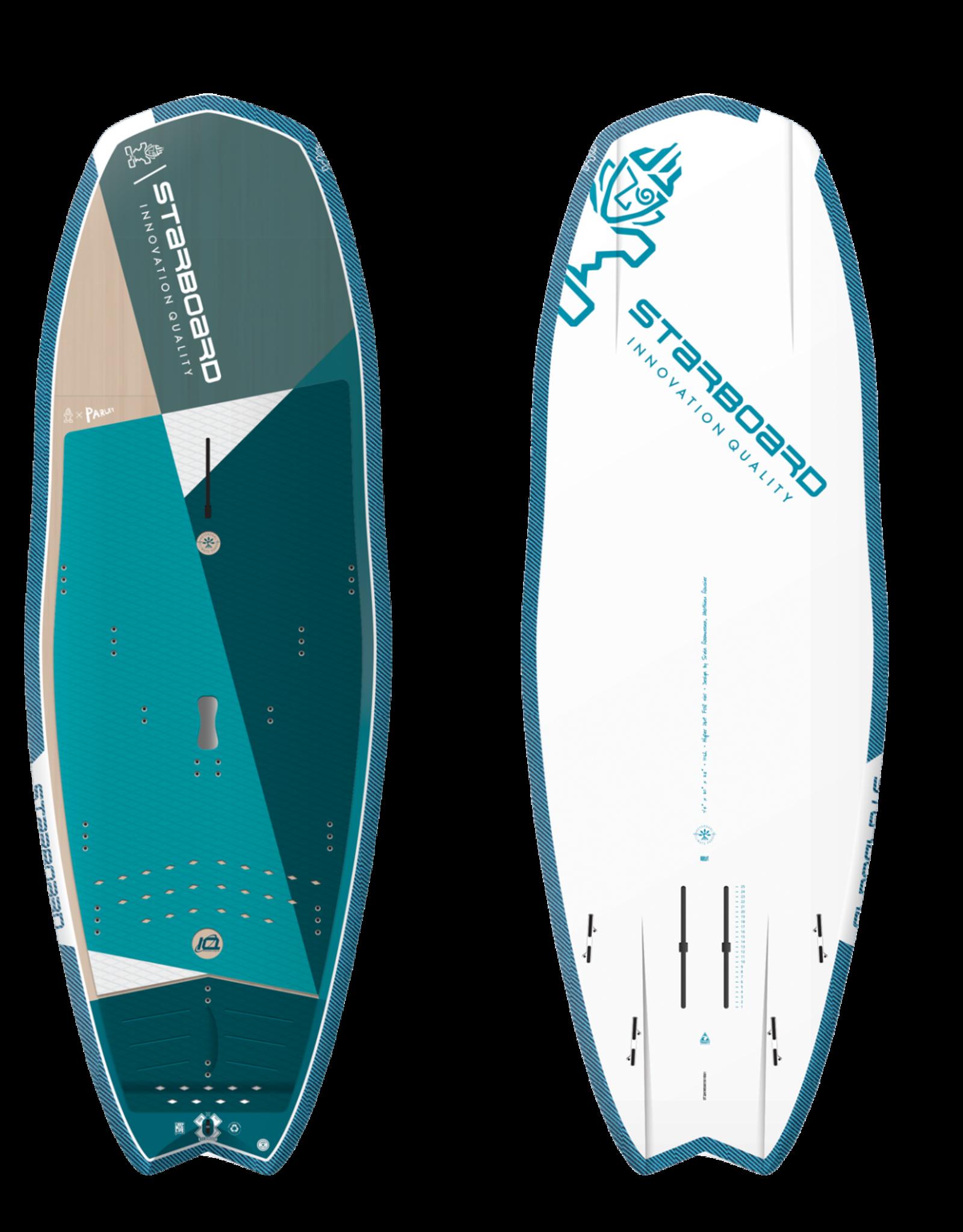 "Starboard 2021 Starboard 7'4""x30"" Hyper Nut Starlite Foil 4 in 1"