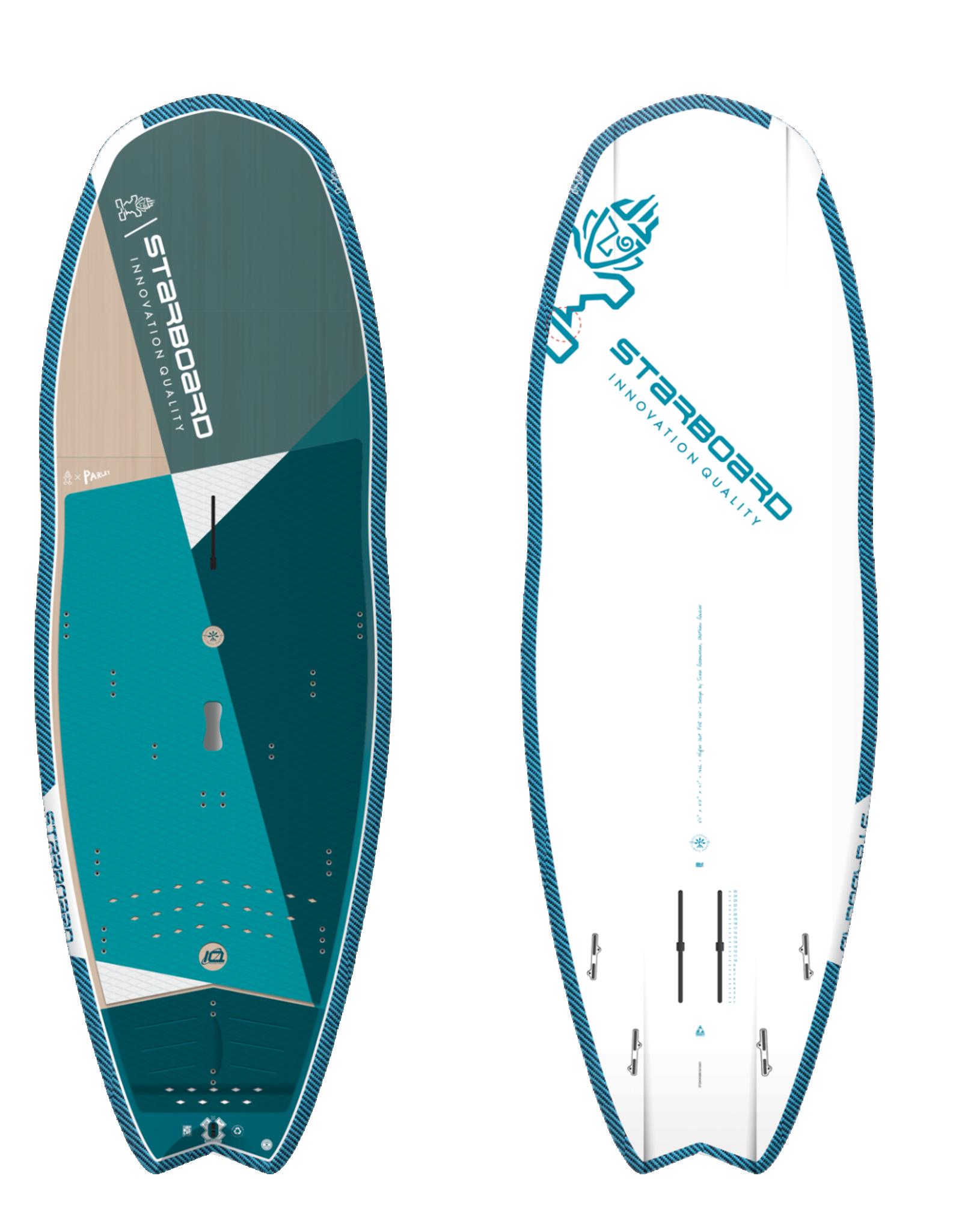 "Starboard 2021 Starboard 8'x31.5"" Hyper Nut Starlite Foil 4 in 1 (Arriving June)"