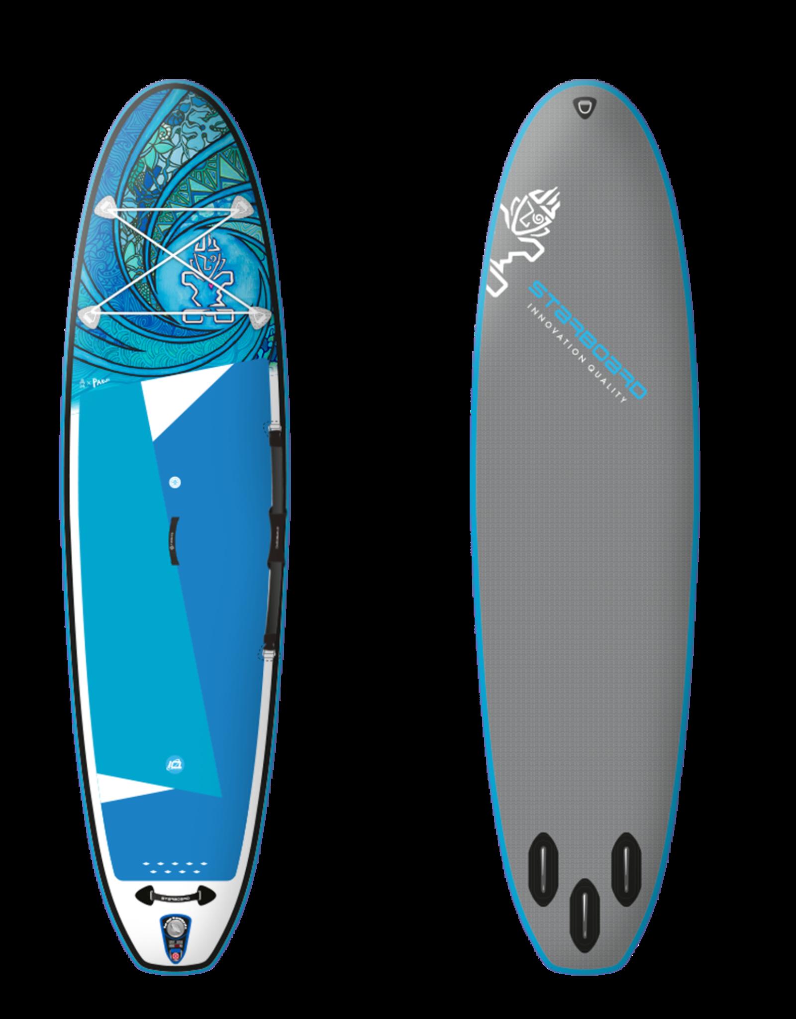 "Starboard 2021 Starboard Inflatable SUP 10'2x31""x4.75"" iGO (Tikhine) Wave Deluxe SC"