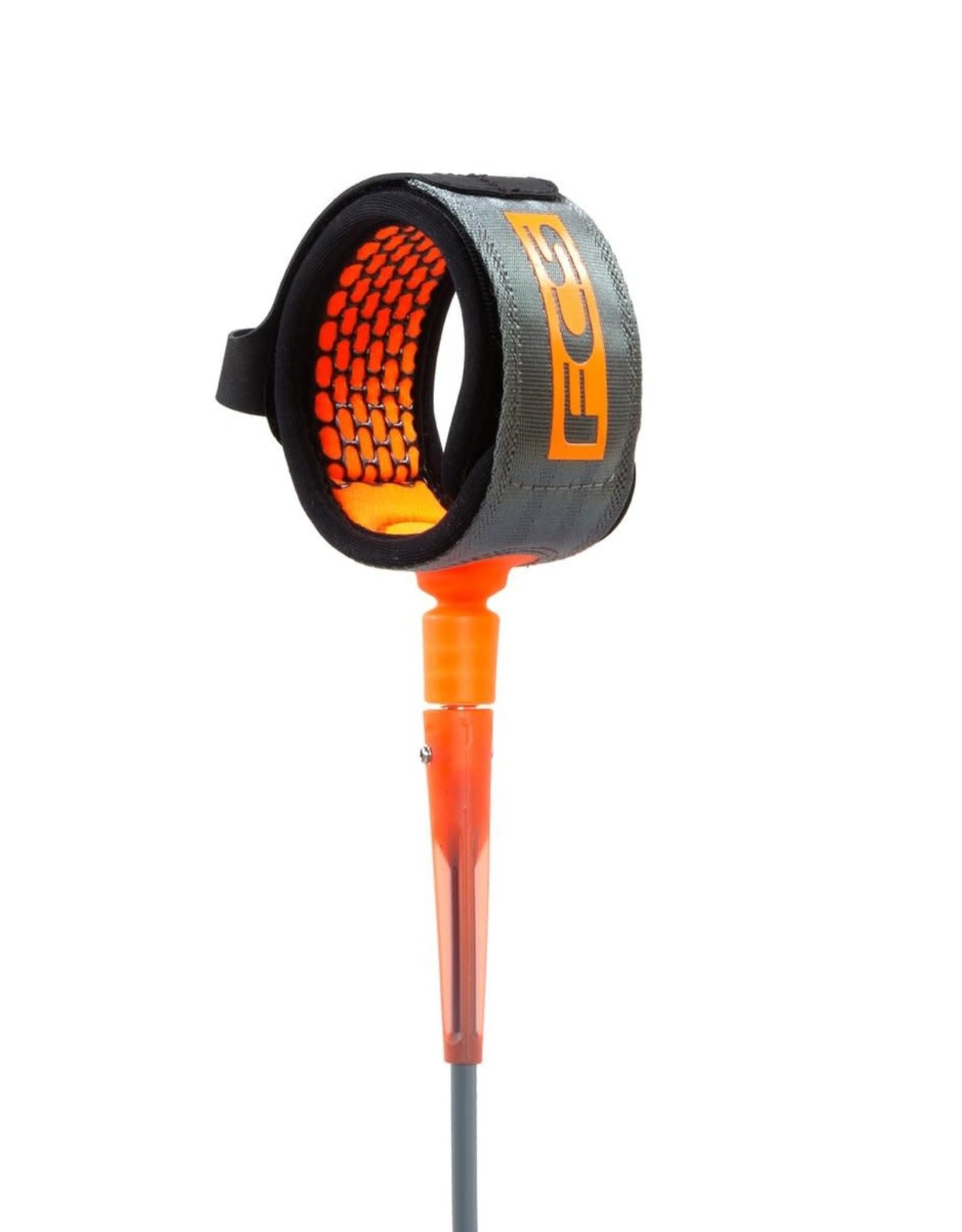 FCS FCS 7' All Round Essential Leash Charcoal/Orange