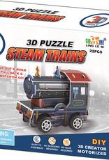 3D Steam Train Puzzle