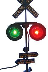 Flashing Crossbuck Signals