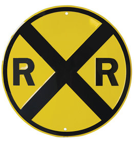 RR X-ing Sign