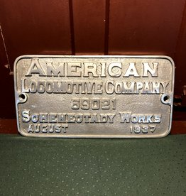 #60 Builder's Plate