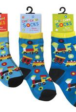 Choo Choo Socks 2-4 Years