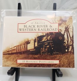 BR&W RR Post Card Book