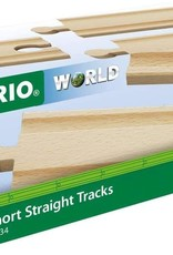 Brio BRIO Short Straight Tracks