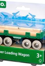 Brio BRIO Lumber Loading Wagon