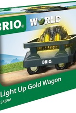 Brio BRIO Light Up Gold Wagon