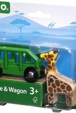 Brio BRIO Giraffe and Wagon Train