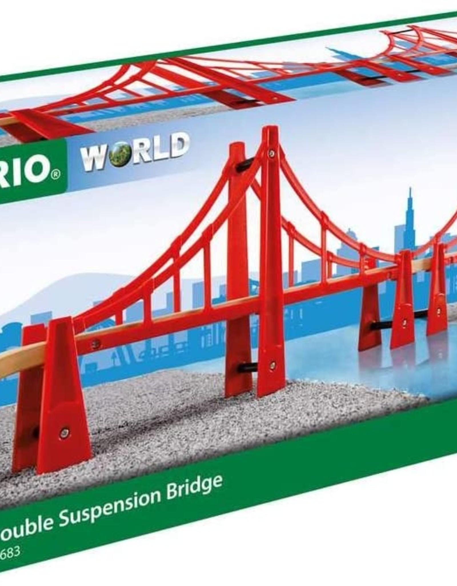 Brio BRIO Double Suspension Bridge