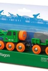 Brio BRIO Clever Crane Wagon Set