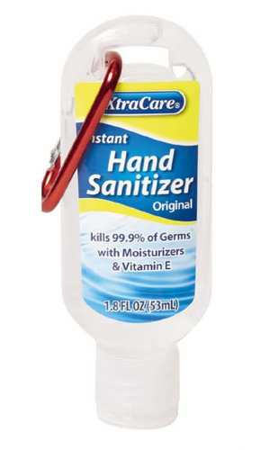 XtraCare Hand Sanitiser 53ml Original with clip