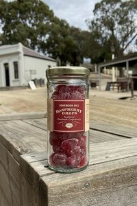 Sh Sweets Raspberry Drops 185g