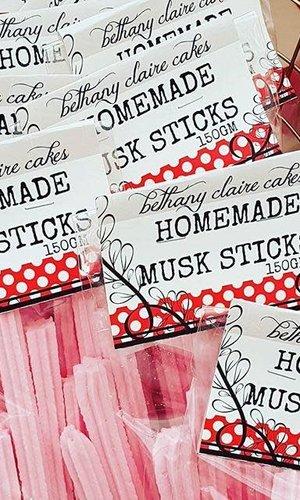 Homemade Musk Sticks 150g