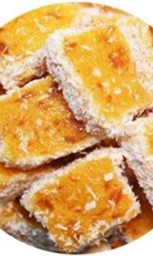 Apricot & Coconut Slices