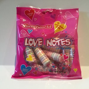 Sweetworld Love Notes / 175g (hang Bags)