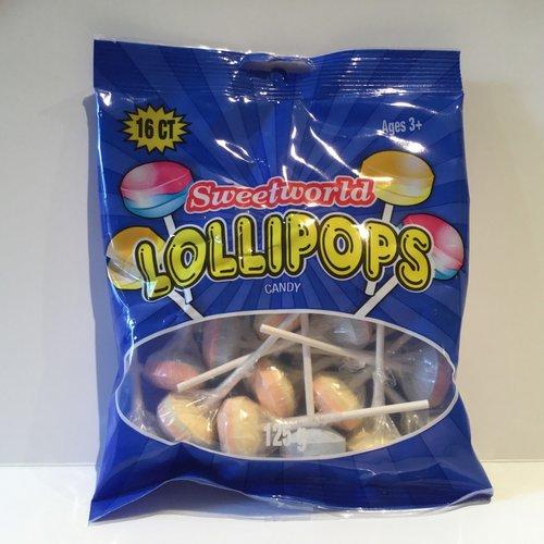 Sweetworld Lollipop / 125g