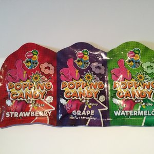 Popping Candy W/lollipop 45g