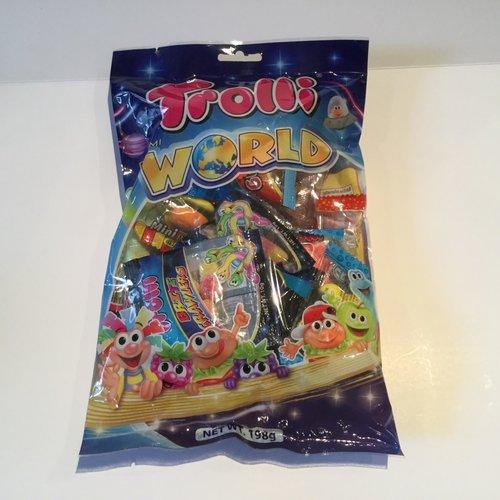 Trolli Gummi World / 198g