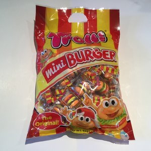 Trolli Mini Burger Mega Bag 432g