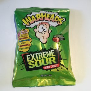 Warheads Extreme Sour Hard Candy / 56g