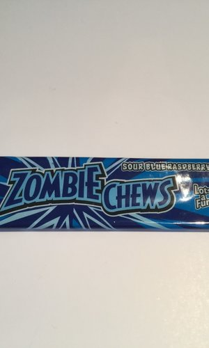 Sweetmans Zombie Chews - Blue Raspberry