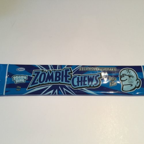 Sweetmans Zombie Chews - Blue Raspberry