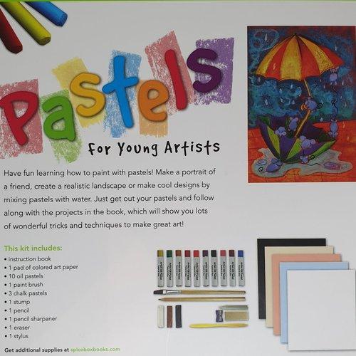 Petit Picasso- Pastels