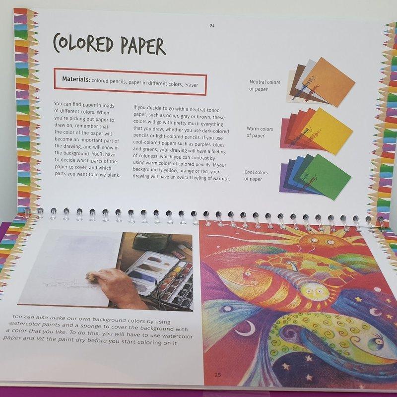 Petit Picasso- Colour Pencil