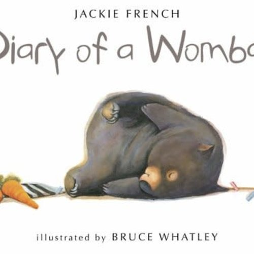 Diary of a Wombat -Jumbo Soft Cover