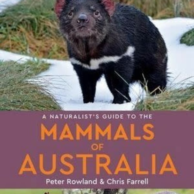 Naturalists Guide To Mammals Of Australi