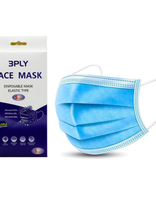 Pack 5- 3 Ply Disposable Mask