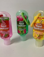 Hand Sanitiser Scented With Clip / 53ml