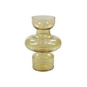 Glass Vase Amber
