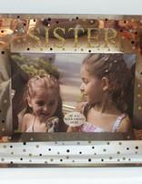 Sister 6 X 4 Glass Photo Frame