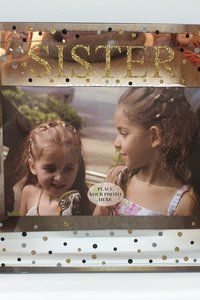 Sister 6 X 4 Glass Photo Frame