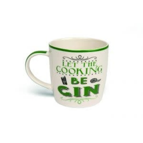 Boxed Mug- Let The Cooking Be Gin
