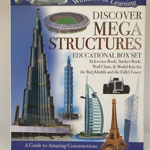 Wol Box Mega Structures  Educational Set