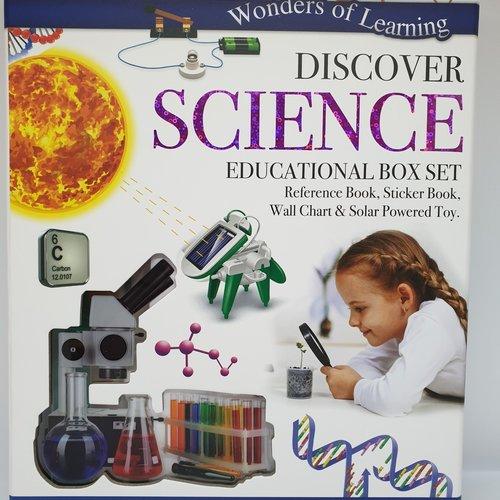 Wol Box Science  Educational Set