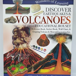 Wol Box Volcano  Educational Set