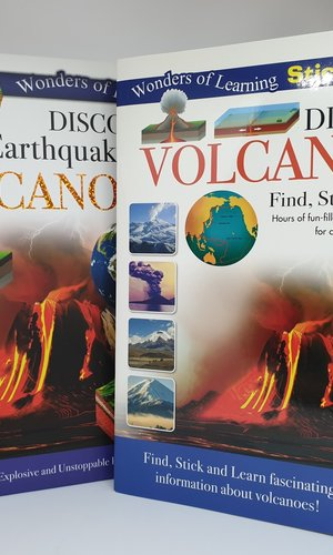 Wol Box Volcano  Educational Set