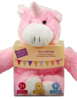 Cudly Plush Buddy Unicorn Hot Cold Pack